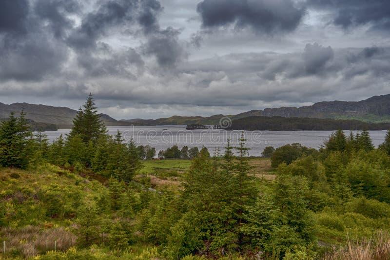 Loch Maree stock foto