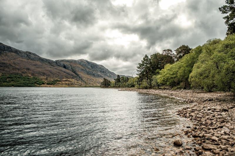 Loch Maree in de Hooglanden van Schotland royalty-vrije stock afbeeldingen