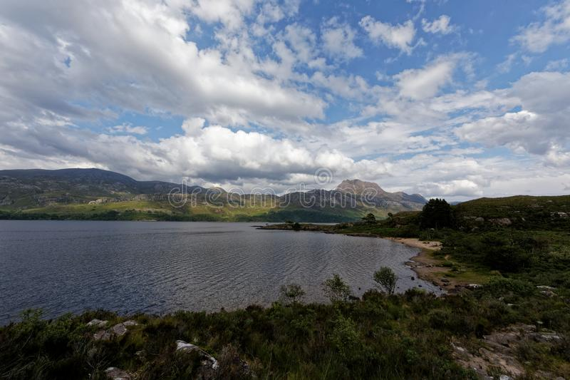 Loch Maree - Wester Ross, The Highlands, Scotland. UK royalty free stock photography