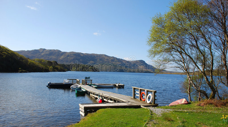 Download Loch Morar. stock photo. Image of scottish, highlands - 2452988