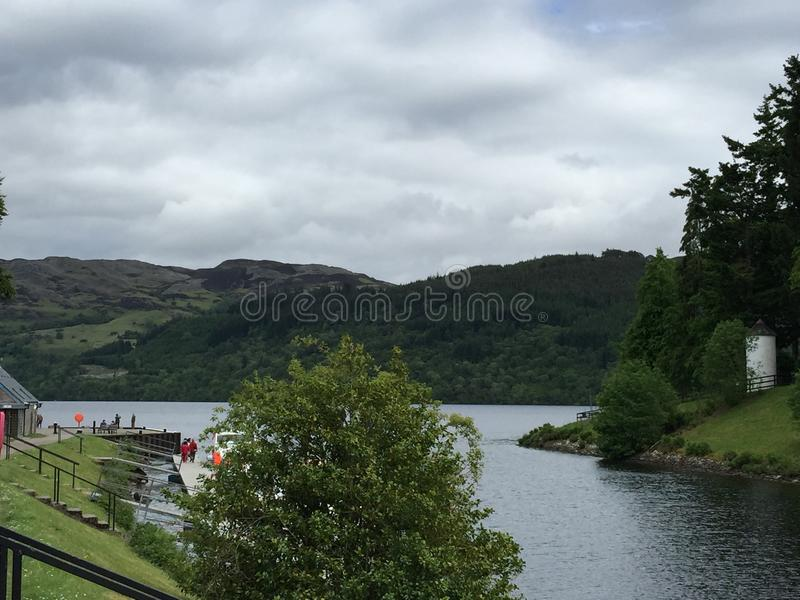 Loch Ness foto de stock