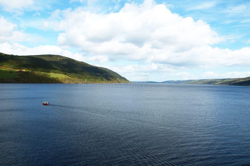 Loch Ness fotografia stock