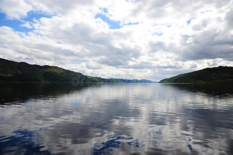 Download Loch Ness stock image. Image of tourism, clouds, scotland - 18136773
