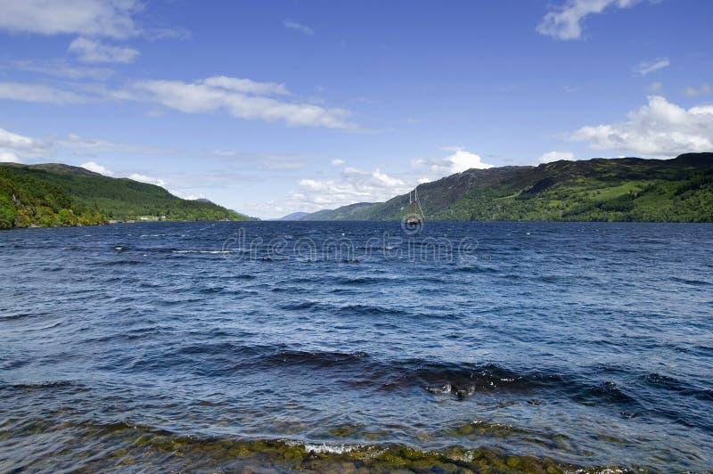 Loch Ness lizenzfreie stockbilder