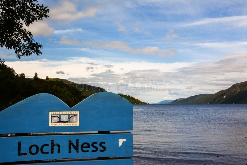 Loch ness royalty-vrije stock fotografie
