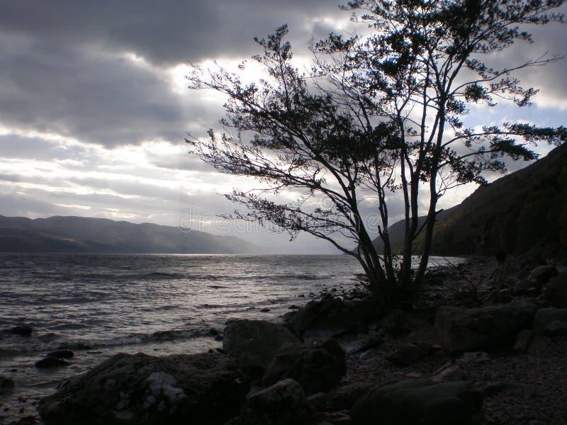 Loch Ness imagem de stock