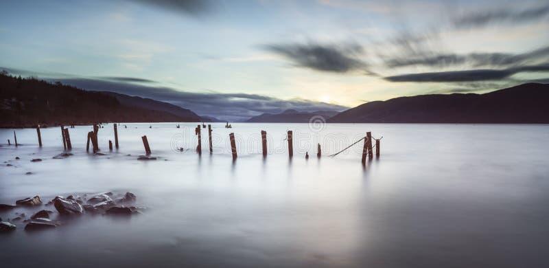 Loch Ness em Scotland fotos de stock royalty free
