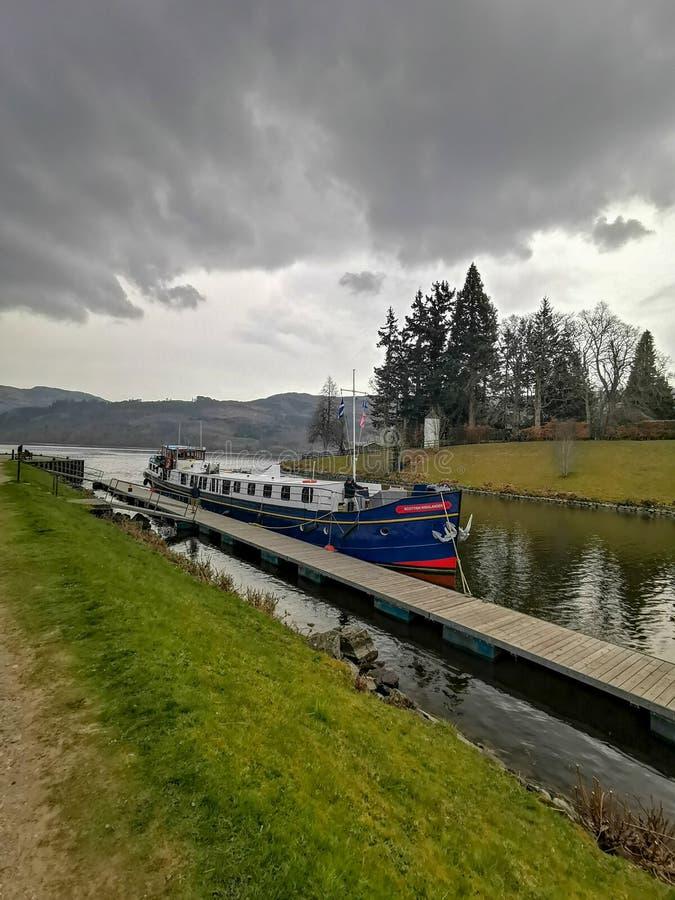Loch Ness royaltyfria foton