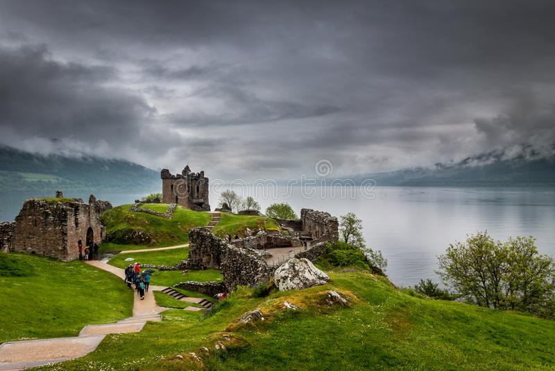 Loch Ness River image libre de droits