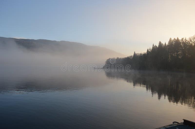 Loch Ness Szkocja obrazy royalty free
