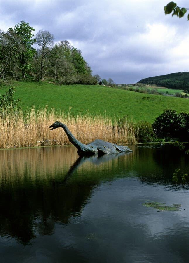 Loch Nesss Monster lizenzfreie stockfotografie
