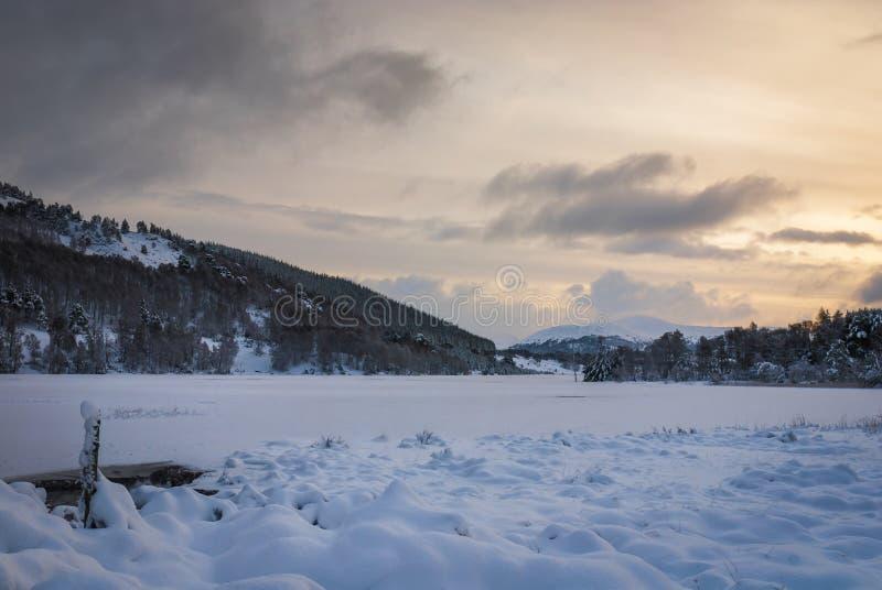 Loch Pityoulish stock image