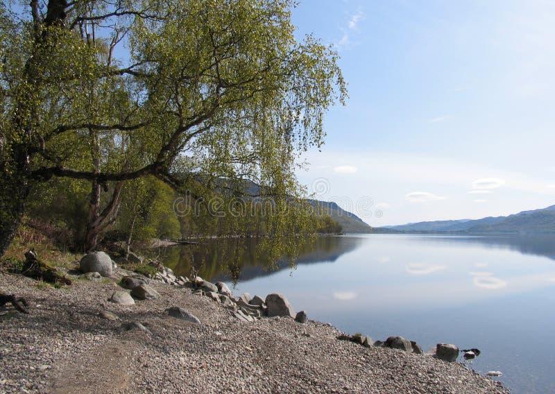 Loch Rannoch royalty free stock photography