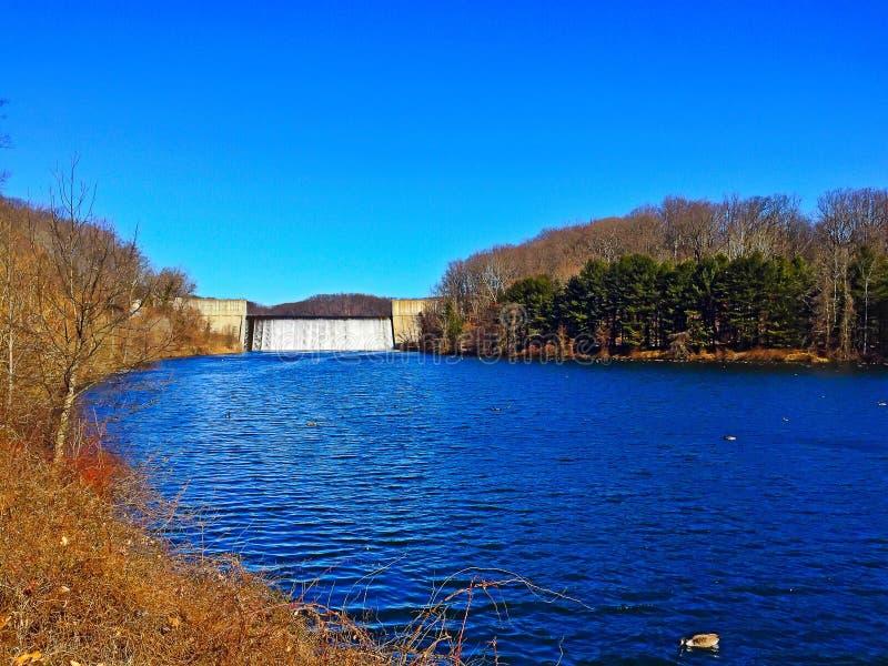 Loch Raven Reservoir royalty-vrije stock foto's