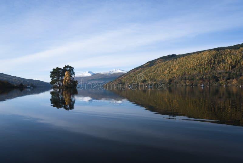 Loch Tay images libres de droits