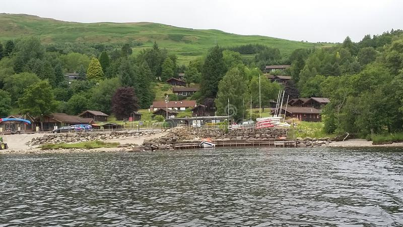 Loch tay beautifull. Lovey, summer royalty free stock photography