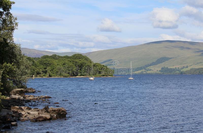 Loch Tay View, Perthshire, Ecosse photographie stock