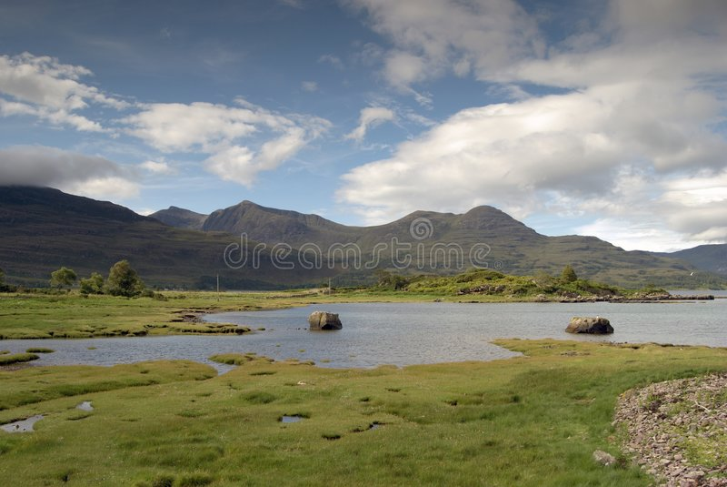 Download Loch Torridon stock image. Image of lake, remote, loch - 2747049