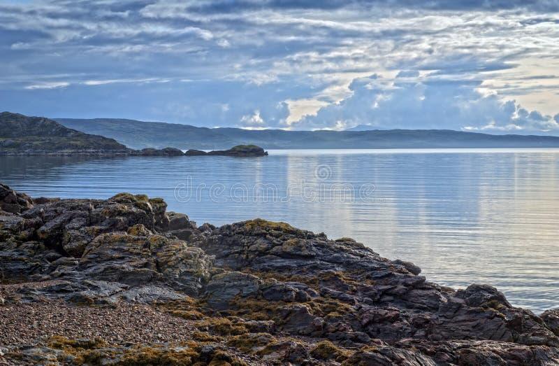 Loch Torridon royalty-vrije stock afbeelding