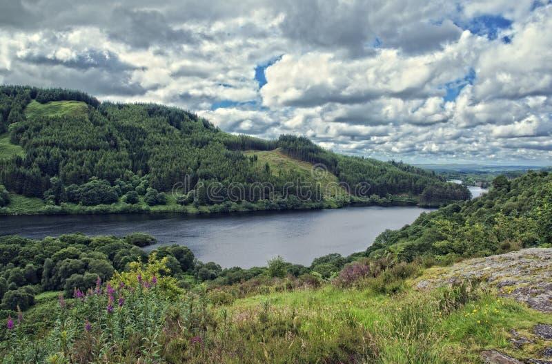 Loch trool royalty-vrije stock foto