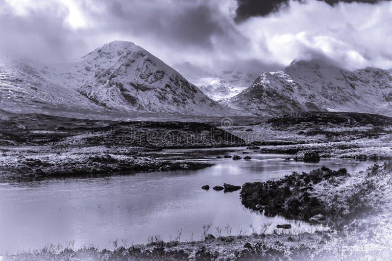 Loch Tulla Scotland royalty free stock image
