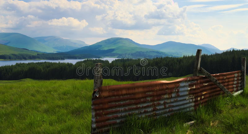 Loch Tulla stock photography