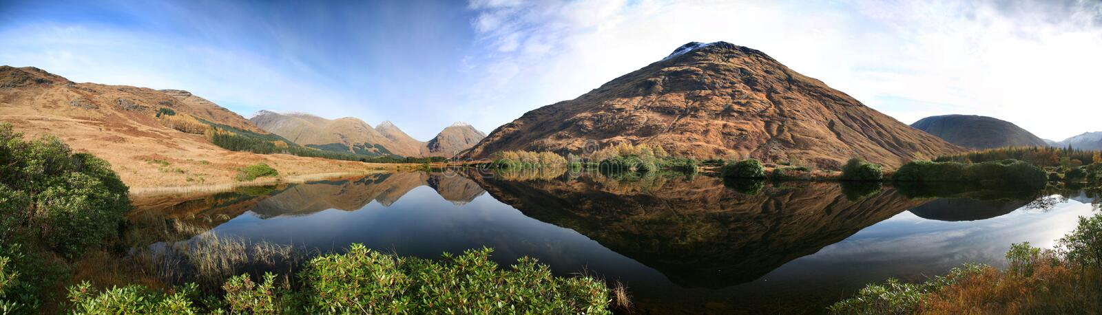 Download Lochan urr stock image. Image of glen, calm, mountain - 7515843