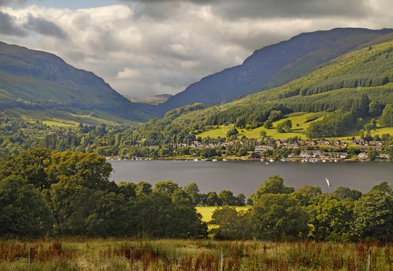 Download Lochearnhead stock photo. Image of scotland, mountains - 31859394
