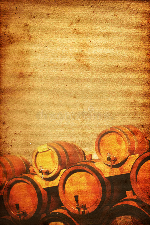 lochu wino royalty ilustracja