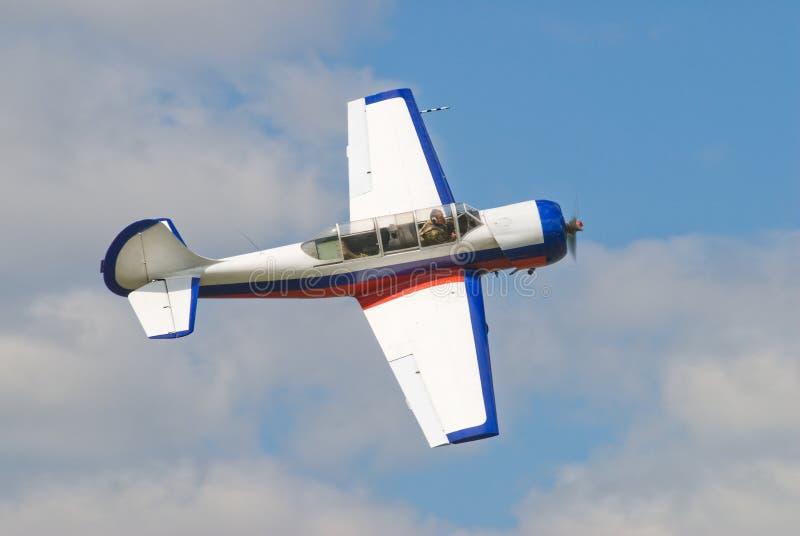 Locja samolot Yak-52 obraz royalty free