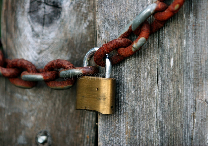 Download Lock stock image. Image of chains, chain, safe, link, iron - 1401371