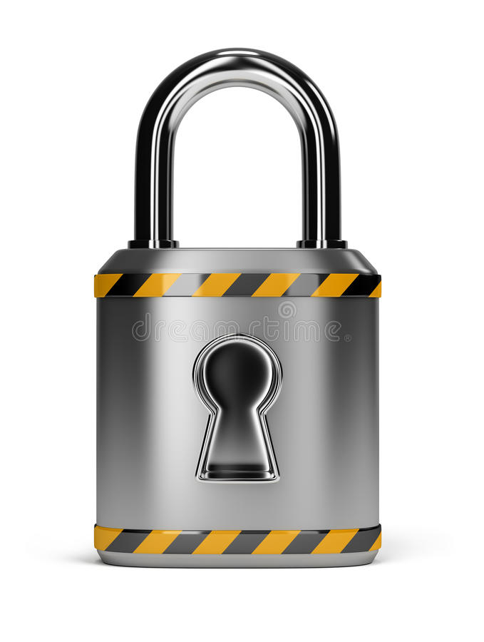 Lock royalty free illustration