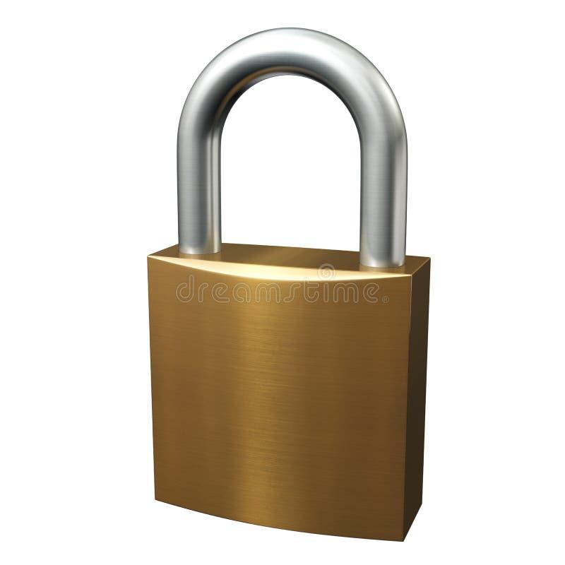 Lock stock illustration