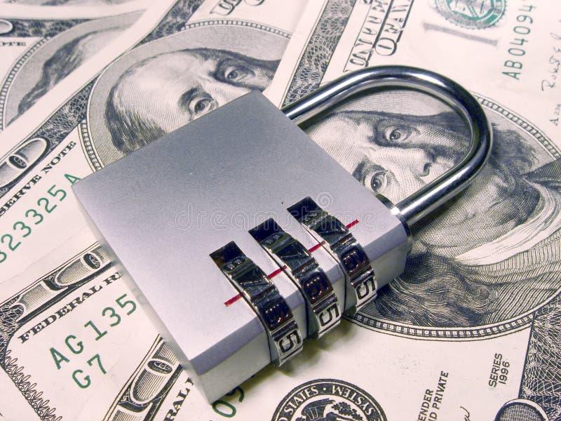 Lock. And money stock photos