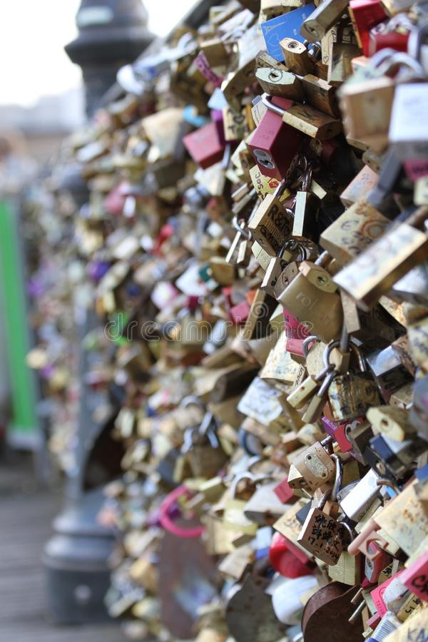 Lock Bridge royalty free stock image