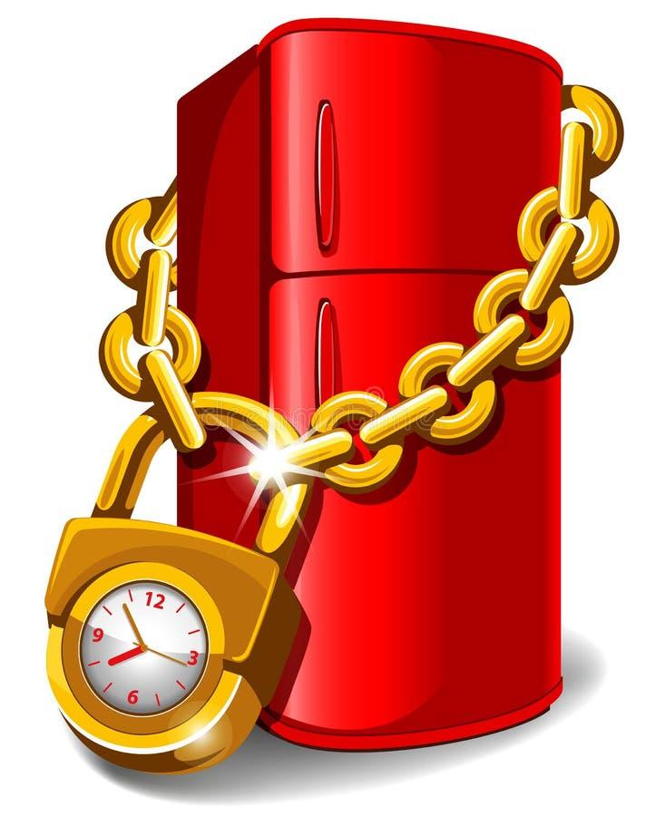 Lock.cdr ilustração do vetor