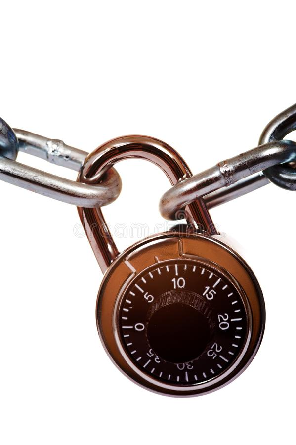 Lock and Chain royalty free stock photography