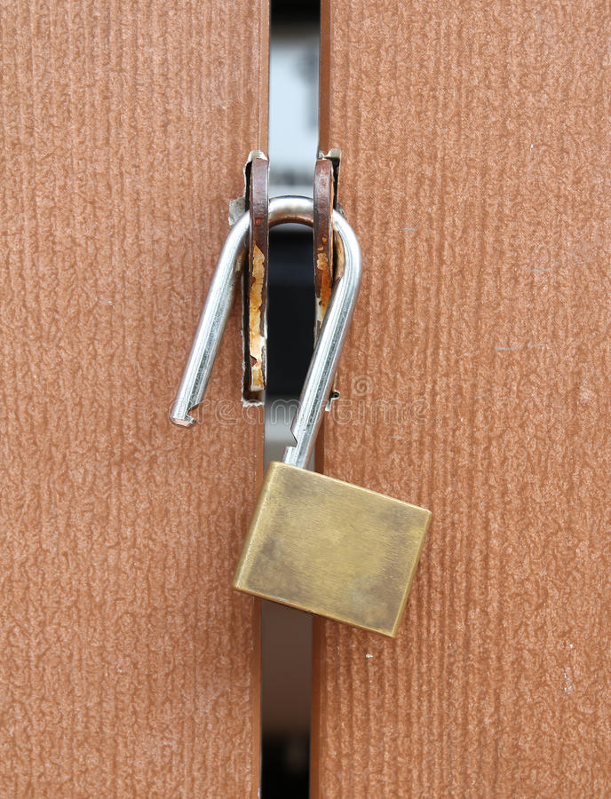 Download Lock the door stock image. Image of lock, door, background - 21197561