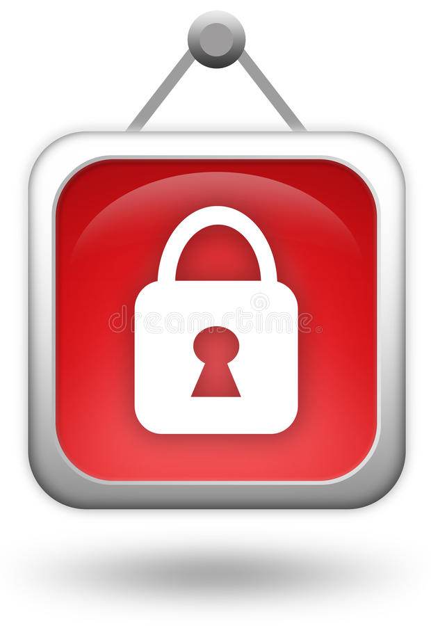 Download Lock Icon Royalty Free Stock Image - Image: 17643636