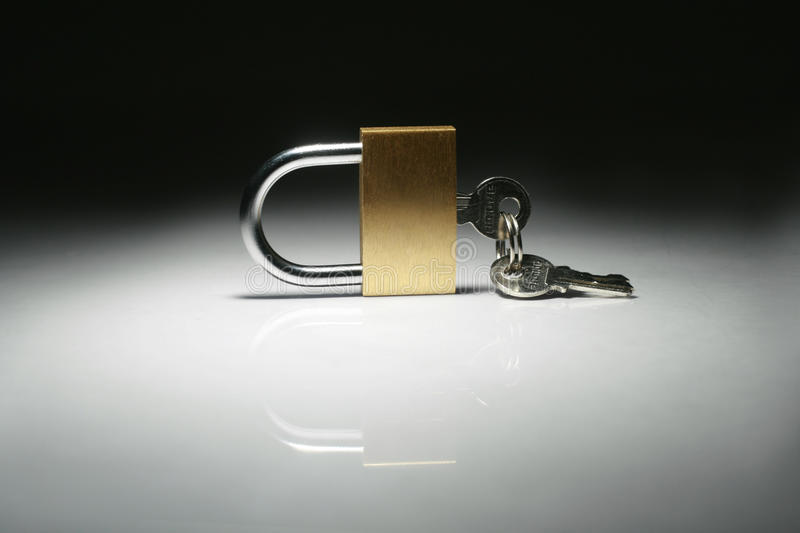 Download Lock isolated stock photo. Image of cross, brass, safe - 13582732
