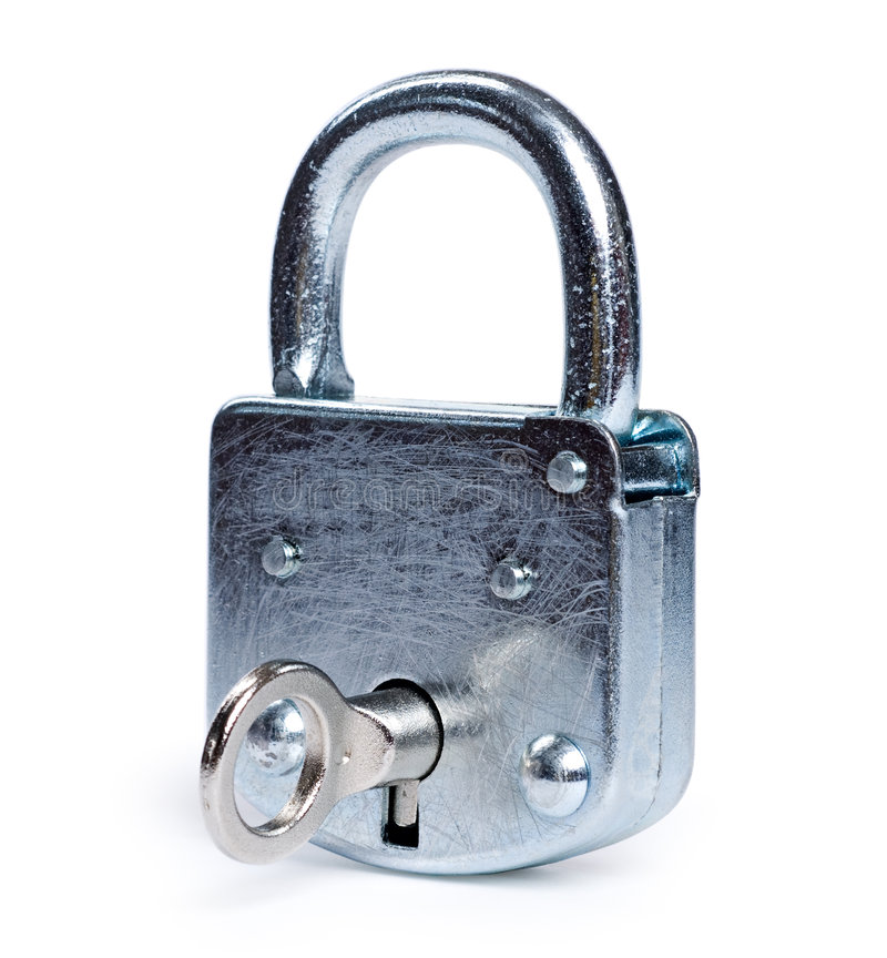 Download Lock isolated stock image. Image of link, concepts, path - 5527123