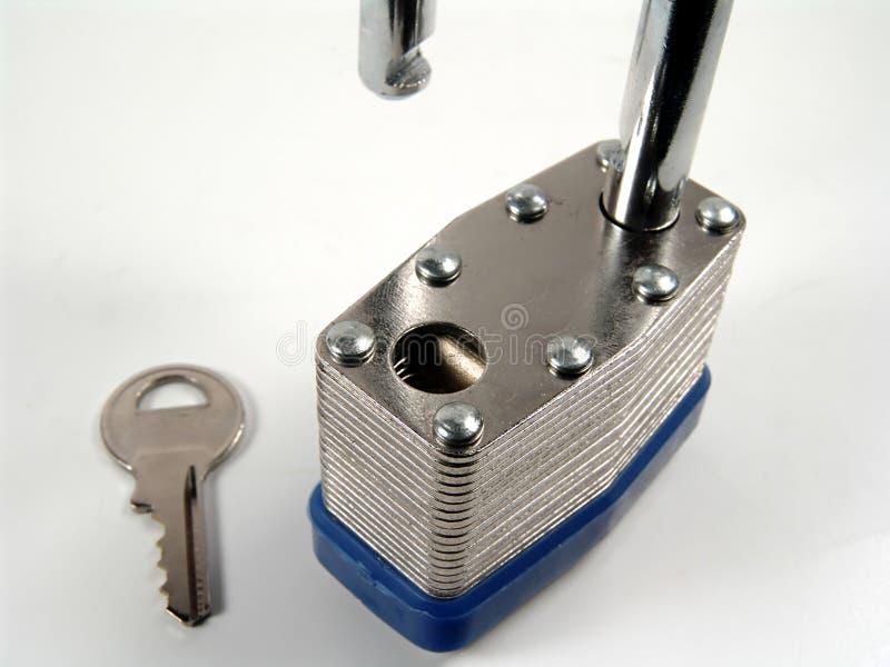 Download Lock and Key stock image. Image of detail, steel, close, metal - 9729