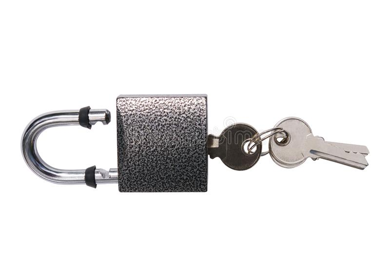 Lock with keys royalty free stock images