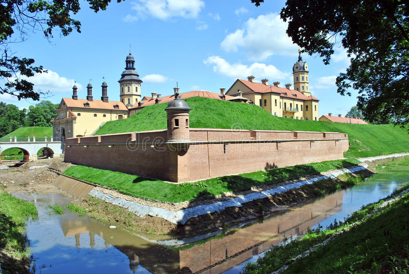 Download Lock Nesvizhsky stock image. Image of heritage, palace - 20423907