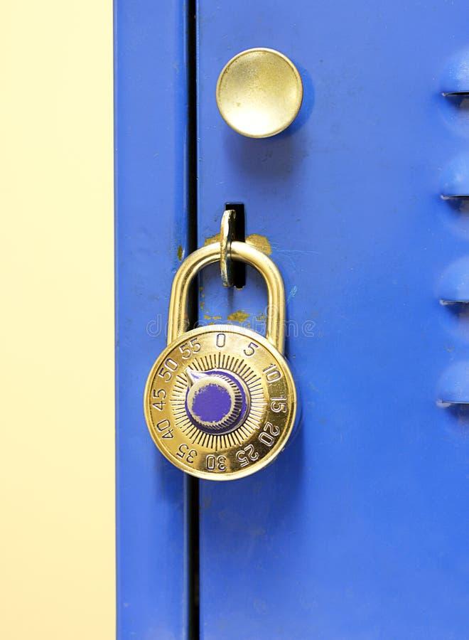 Free Lock On Locker Royalty Free Stock Images - 31607589