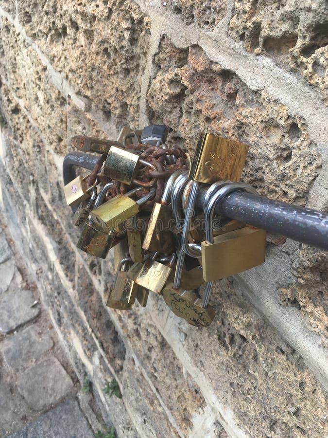 Lock paris zdjęcia stock