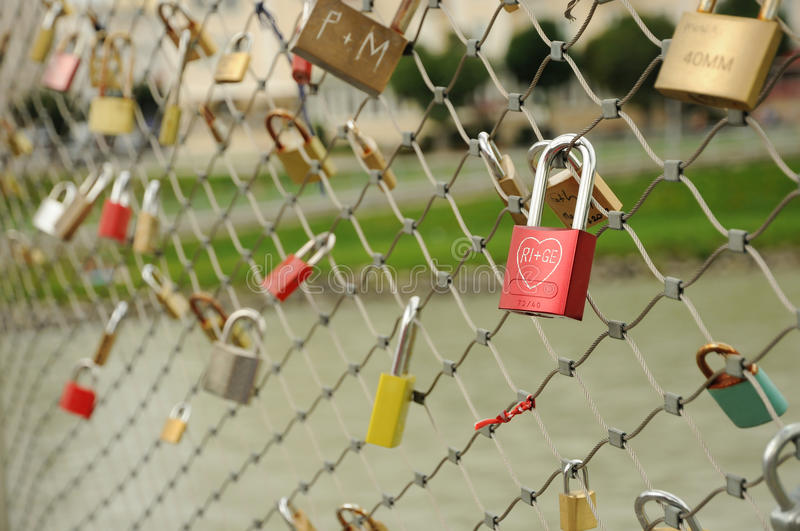 Lock symbol love royalty free stock photography