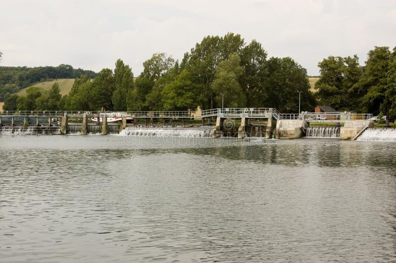 Download Lock And Weir At Mapledurham, Berkshire Stock Photo - Image: 20903316