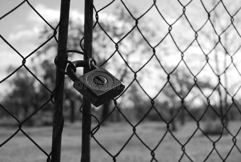 Download Locked stock image. Image of black, garden, locked, iron - 13307983