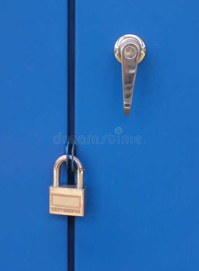 Locked royalty free stock photography
